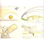 "Estudos para escultura ""Bird"" - Secret Sketchbook, 1995"