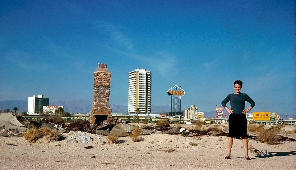 Denise Scott Brown, Las Vegas, 1966.